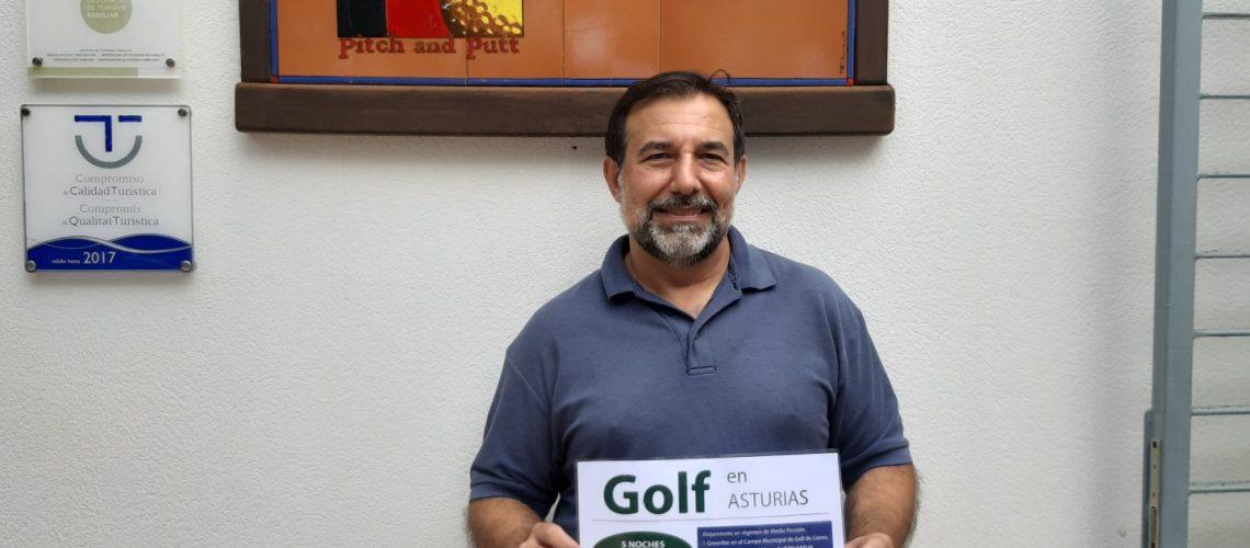 Guanyador Golf en Asturias 2019 - Francisco Javier Aparicio Redondo